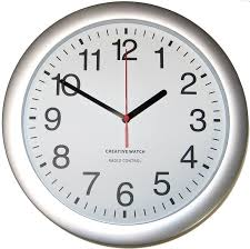 time management on a clock