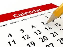 scheduling on a calendar